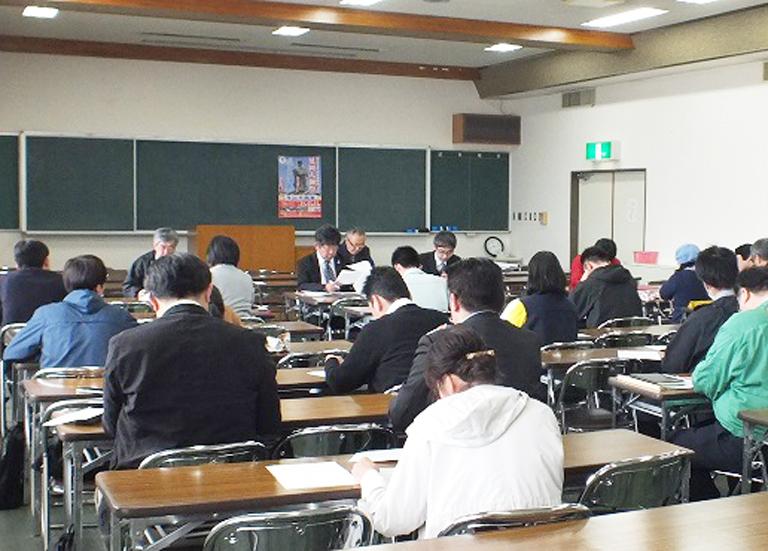 延岡大師祭合同会議の様子