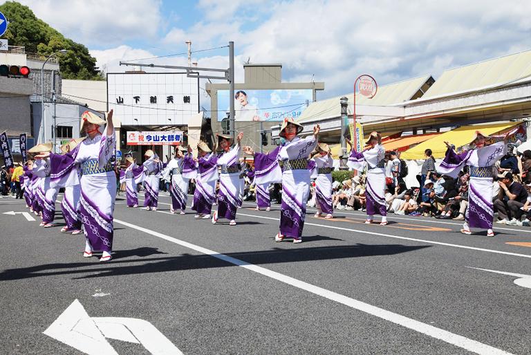 延岡大師祭パレード